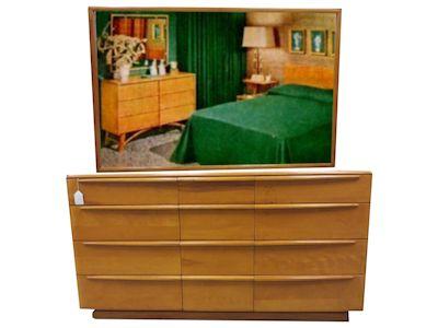 dresser heywood wakefield twin bedroom set rio vintage furniture