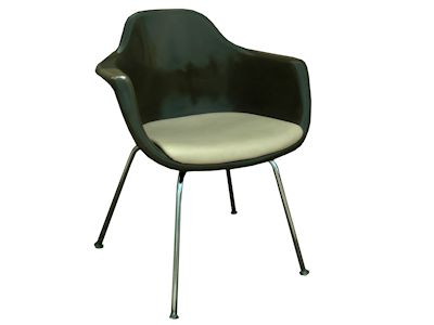 Fiberglass Arm Chair